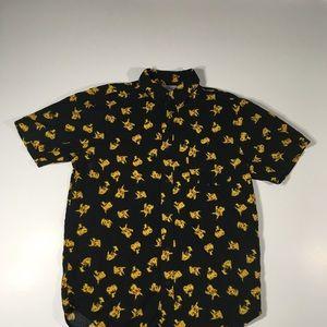 Pokémon button up shirt size S